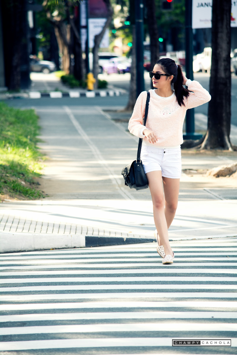Street photography with Jane De Leon at Bonifacio Global City, Taguig